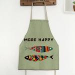 ผ้ากันเปื้อนเด็ก ปลาสายรุ้ง by Supergoods