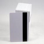 บัตรแถบแม่เหล็กเปล่าสีขาว แบบ Hi-Co และแบบ Lo-Co เริ่ม 60 ใบ บัตรพรีปริ๊นท์ คีย์การ์ด คีย์ข้อมูลลูกค้า บัตรสมาชิกเข้ารหัส ส่งฟรี