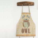 ผ้ากันเปื้อนผู้ใหญ่ นกฮูก OWL