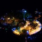แสงสียามราตรีของเมืองศรีราชา และ เกาะลอย/วีดีโอจากกล้อง phantom3 pro