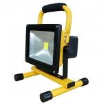 ไฟสปอร์ตไลท์ LED 20 W พกพา ชาร์จโซล่าร์เซลหรือไฟบ้าน