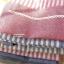 ผ้ากันเปื้อนผู้ใหญ่ ญี่ปุ่นลายทางสีแดงแต่งกระเป๋า 2 thumbnail 3