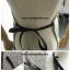 ผ้ากันเปื้อนสไตล์ญี่ปุ่นลายกระต่าย hello แบบมีกระเป๋าหน้า thumbnail 4