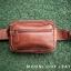 กระเป๋าคาดเอว รุ่น Alpha สีแทน (No.110) thumbnail 2