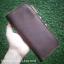 กระเป๋าสตางค์หนังแท้ 100% หนังวัว หนังออยนูบัค แฮนด์เมด ใบยาว สีน้ำตาลเข้ม ดิบ เถื่อน เท่สุดไม่ซ้ำใคร งานไทย ทนทาน ลดราคา พร้อมกล่อง thumbnail 2