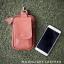 กระเป๋าใส่โทรศัพท์ ร้อยเข็มขัด หนังแท้ รุ่น Belta II สีแทน thumbnail 1