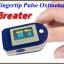 เครื่องวัดออกซิเจนปลายนิ้ว รุ่น Greater รหัส MEH06 thumbnail 1