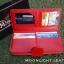 กระเป๋าสตางค์ผู้หญิง ใบยาวสวยงาม สีแดง ทำจากหนังวัวแท้แสนนุ่ม ทนทาน โดนน้ำได้ ไม่ลอกร่อน พร้อมกล่องแบรนด์แท้ Moonlight thumbnail 4