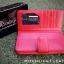 กระเป๋าสตางค์ผู้หญิง ใบยาวสวยงาม สีแดง ทำจากหนังวัวแท้แสนนุ่ม ทนทาน โดนน้ำได้ ไม่ลอกร่อน พร้อมกล่องแบรนด์แท้ Moonlight thumbnail 3