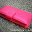 กระเป๋าสตางค์ผู้หญิง ใบยาวสวยงาม สีแดง ทำจากหนังวัวแท้แสนนุ่ม ทนทาน โดนน้ำได้ ไม่ลอกร่อน พร้อมกล่องแบรนด์แท้ Moonlight thumbnail 2