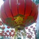 โคมแดงจีน (เต็งลั้ง) แบบก้านร่ม ขนาด 16 นิ้ว