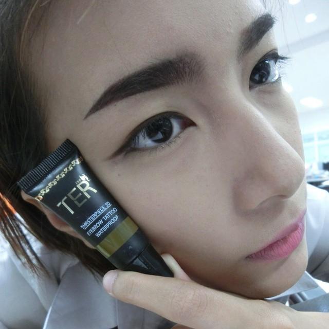 Ter masterpiece 3d eyebrow tattoo waterproof 4g for Waterproof eyebrow tattoo
