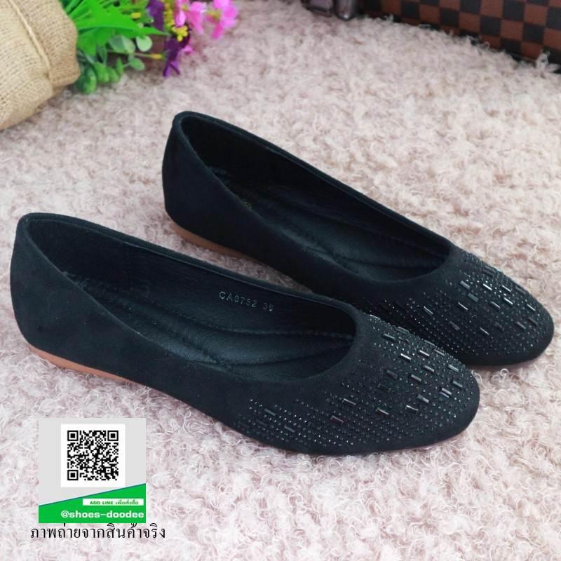 รองเท้าคัชชู สไตล์คาวาอี้ 9752-BLACK [สีดำ]