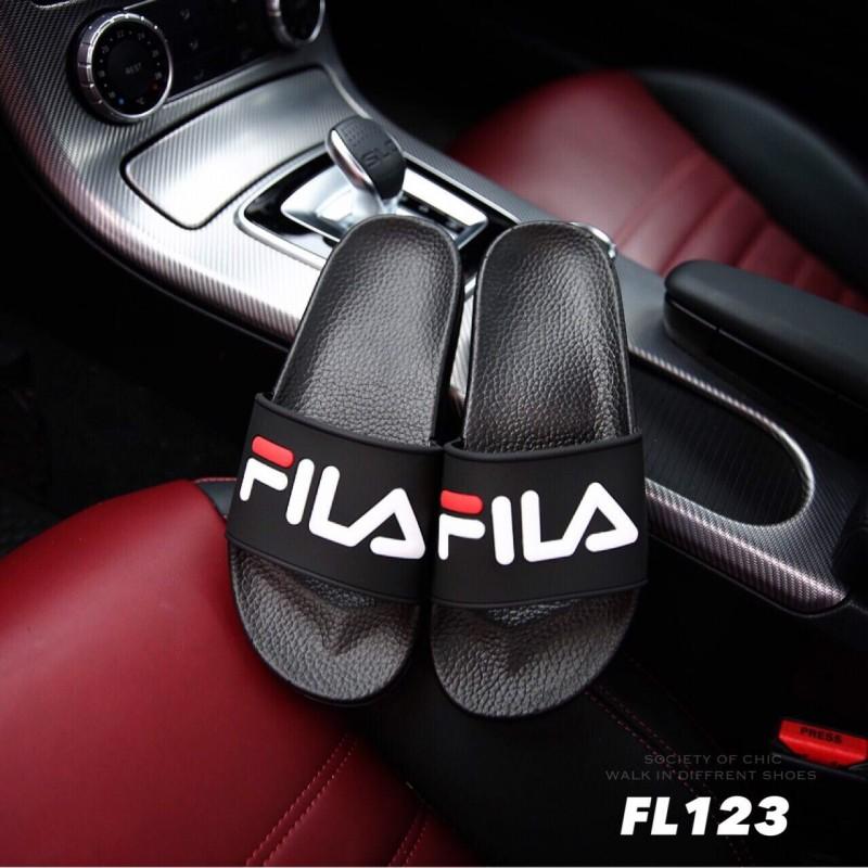รองเท้าแตะสีดำ FILA HERITAGE DRIFTER POOL SLIDES (สีดำ )
