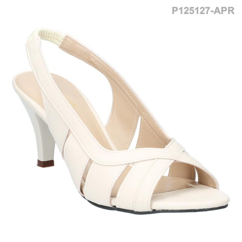 ลดล้างสต๊อก รองเท้าส้นเตี้ย P125127-APR [สีแอปริคอท]