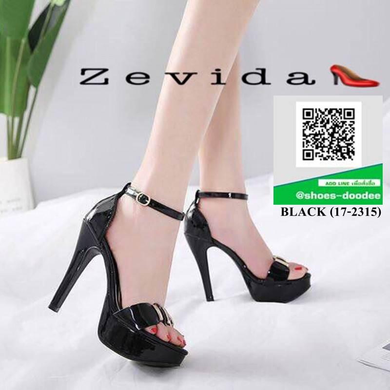 รองเท้าส้นสูง สไตล์MAXXI 17-2315-BLACK [สีดำ]