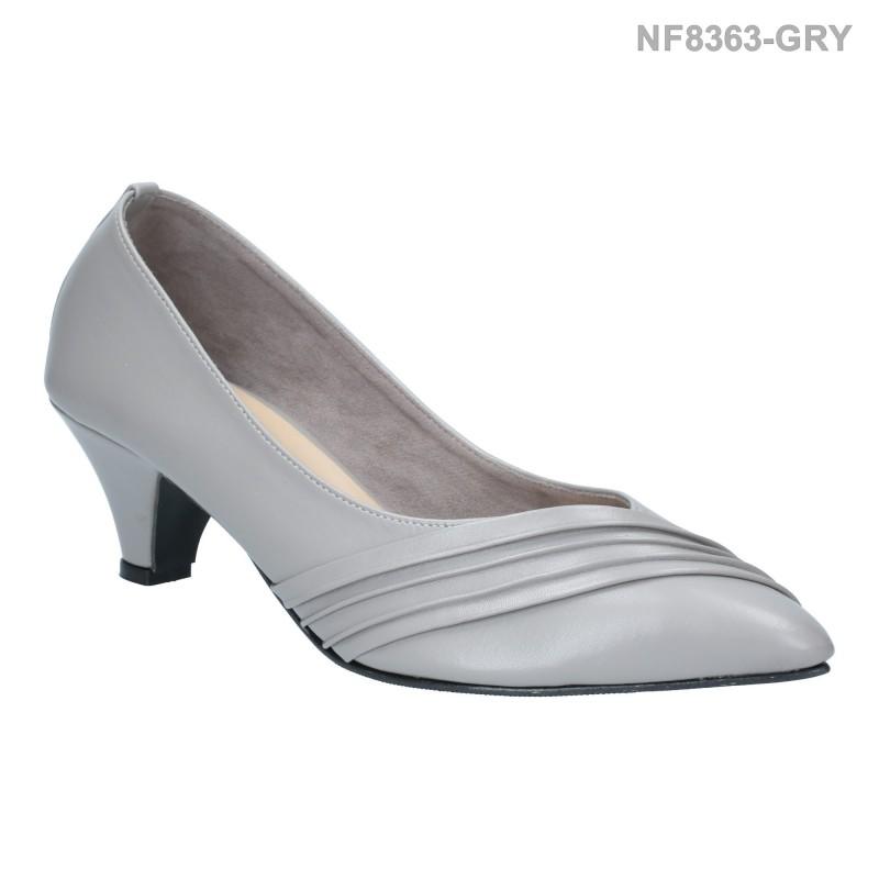 ลดล้างสต๊อก รองเท้าส้นเตี้ย NF8363-GRY [สีเทา]