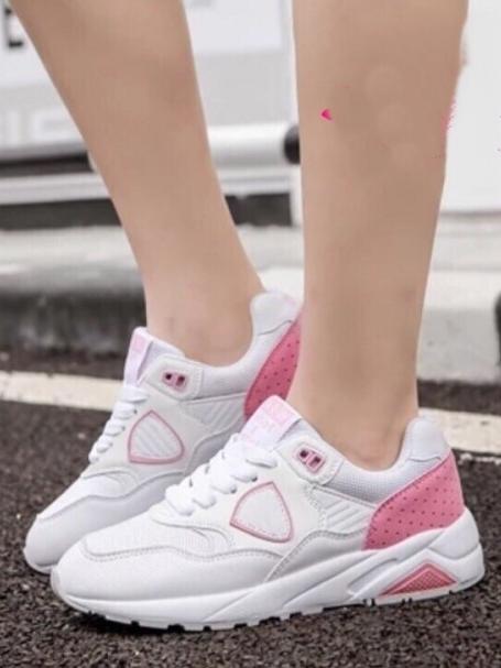 รองเท้าผ้าใบสีชมพู หนานุ่ม pastel shoes สีสันหวานๆ งานดีไซน์ จาก Korea ตัวนี้กำลังนิยมมากๆ กลุ่มวัยรุ่นเกาหลี เป็นผ้าใบสีสัน พาสเทสหวานๆ ใส่นุ่มเท้าจะแมทกับขาสั้นขายาว ได้หมด ลงตัวทุกสไตส์ค่ะ