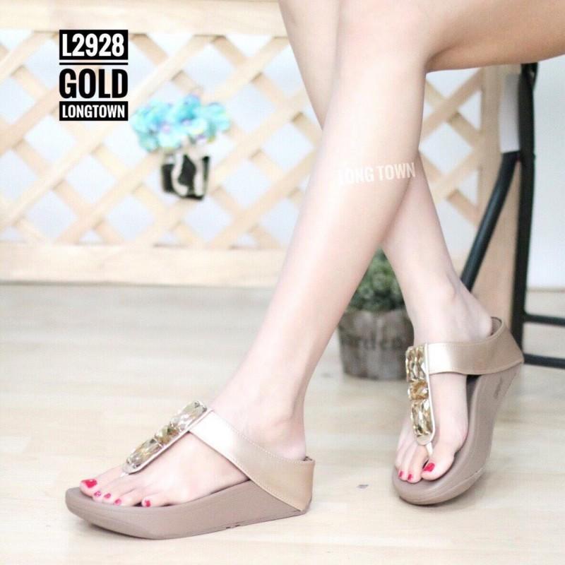 รองเท้าเพื่อสุขภาพ ฟิทฟลอปหนีบ L2928-GLD [สีทอง]