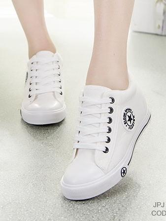 รองเท้าผ้าใบ Sneaker Converse Style (สีขาว )