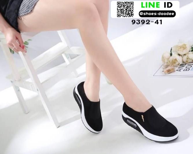 รองเท้าผ้าใบ งานใหม่ล่าสุด feragamo 9392-41-BLK [สีดำ]