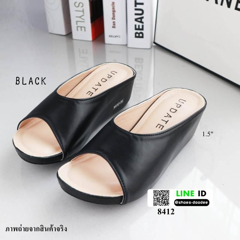 รองเท้ามินิส้นเตารีด 8412-BLACK [สีดำ]