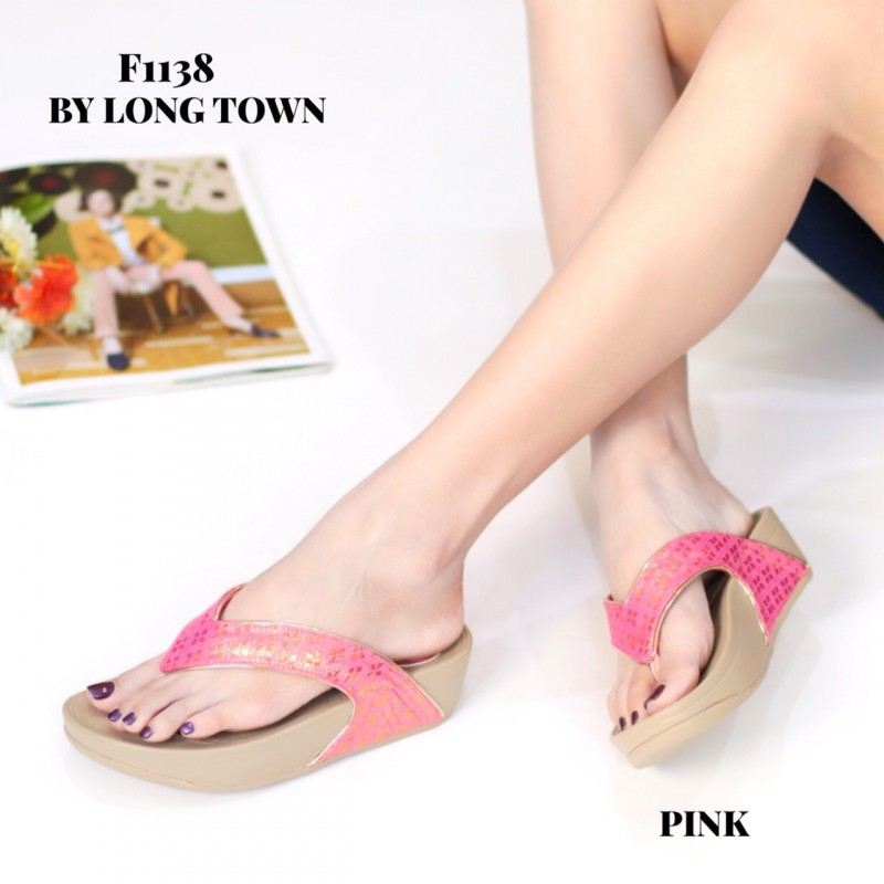 รองเท้าเพื่อสุขภาพ ฟิทฟลอปหนีบ F1138-PNK [สีชมพู]