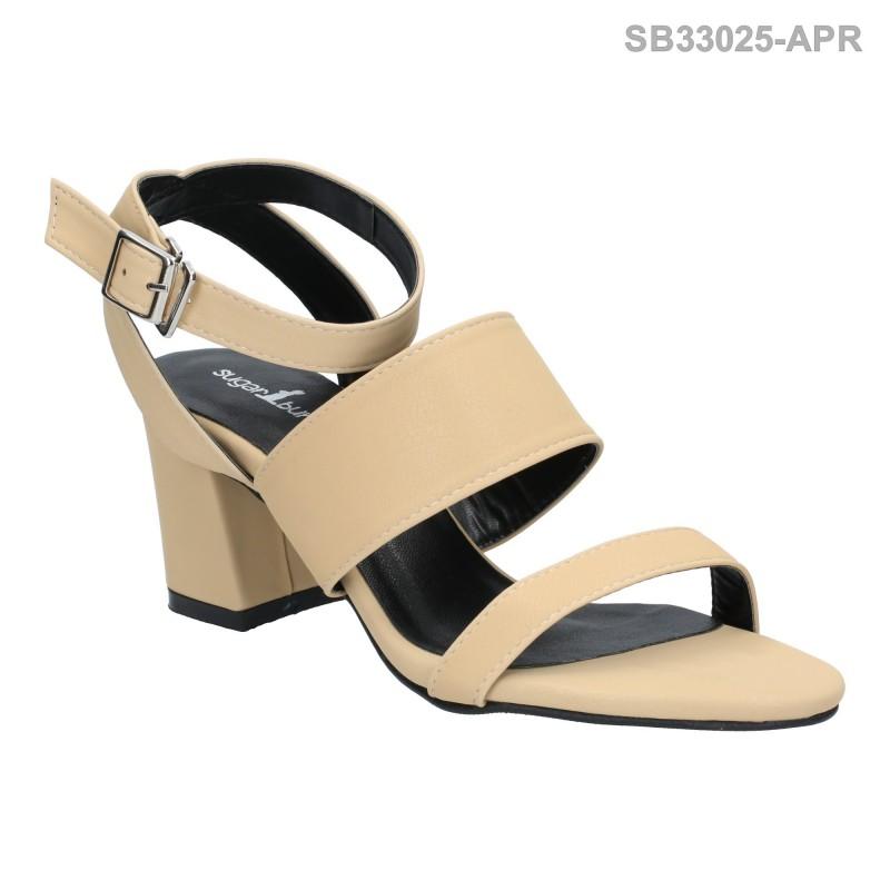 ลดล้างสต๊อก รองเท้าส้นสูงแฟชั่น SB33025-APR [สีแอปริคอท]