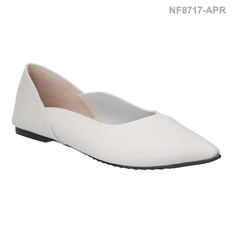 ลดล้างสต๊อก รองเท้าส้นแบน NF8717-APR [สีแอปริคอท]