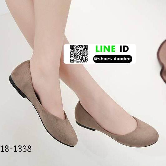 รองเท้าคัชชูหัวมน 18-1338-GRY [สีGRY]