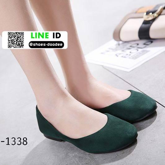 รองเท้าคัชชูหัวมน 18-1338-GRN [สีGRN]