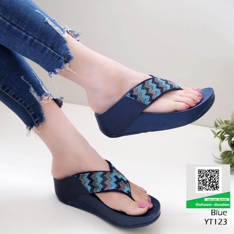รองเท้าเพื่อสุขภาพฟิทฟลอบ YT123-น้ำเงิน [สีน้ำเงิน]