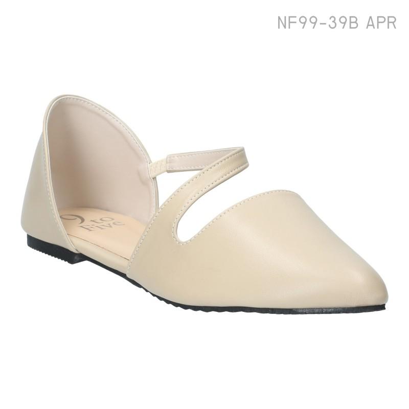 ลดล้างสต๊อก รองเท้าส้นแบน NF99-39B-APR [สีแอปริคอท]