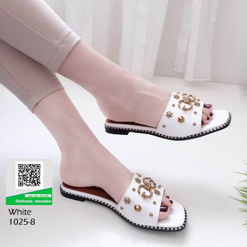รองเท้าแตะ งานใหม่ล่าสุด 1025-8-ขาว [สีขาว]