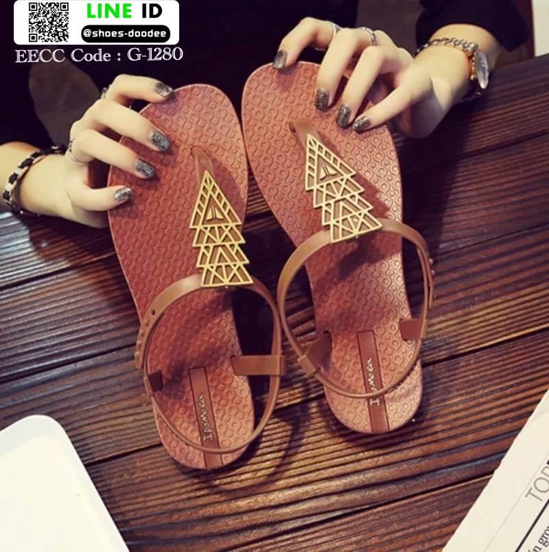รองเท้าแตะ หูหนีบ ipomoea G-1280-BWN [สีน้ำตาล]