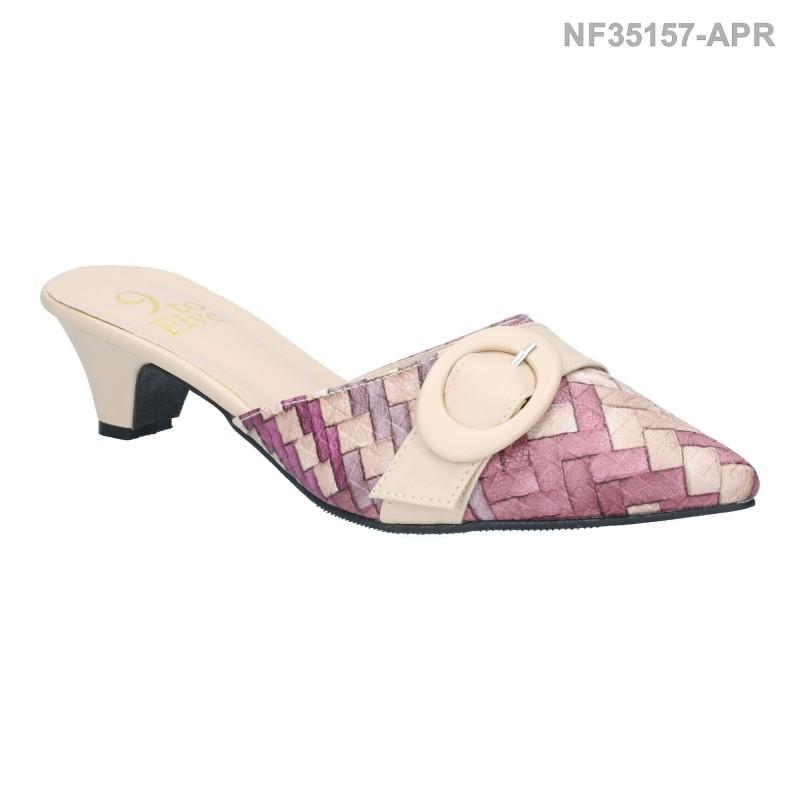 ลดล้างสต๊อก รองเท้าส้นเตี้ย NF35157-APR [สีแอปริคอท]