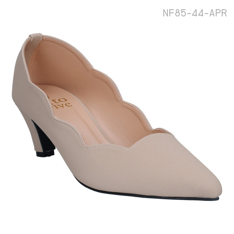 ลดล้างสต๊อก รองเท้าส้นเตี้ย NF85-44-APR [สีแอปริคอท]