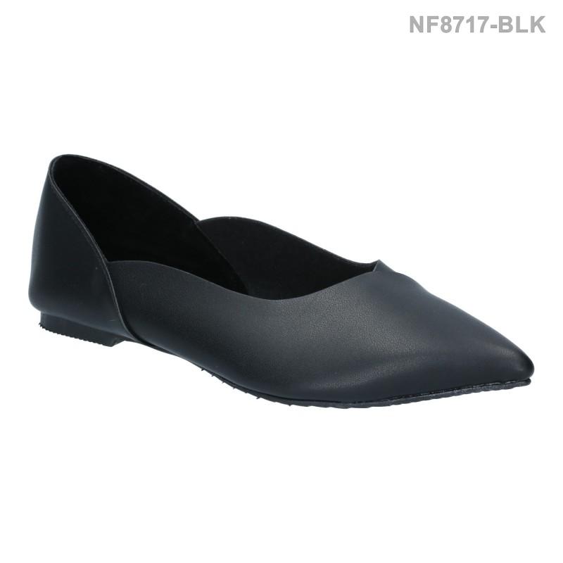ลดล้างสต๊อก รองเท้าส้นแบน NF8717-BLK [สีดำ]