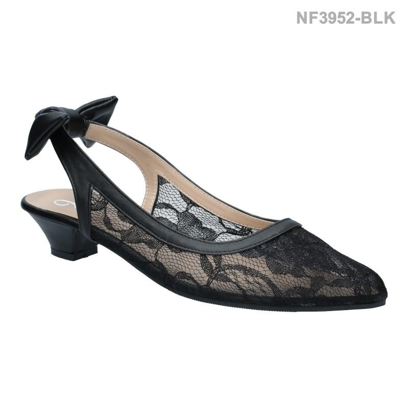 ลดล้างสต๊อก รองเท้าส้นเตี้ย NF3952-BLK [สีดำ]