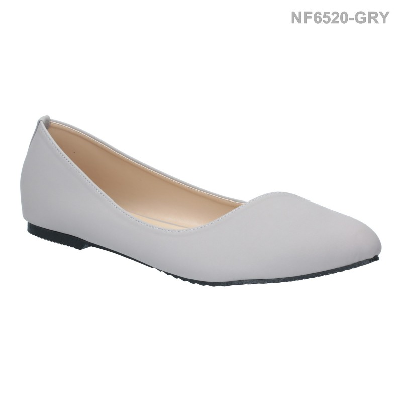 ลดล้างสต๊อก รองเท้าส้นแบน NF6520-GRY [สีเทา]