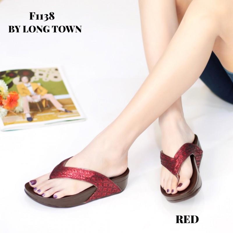 รองเท้าเพื่อสุขภาพ ฟิทฟลอปหนีบ F1138-RED [สีแดง]