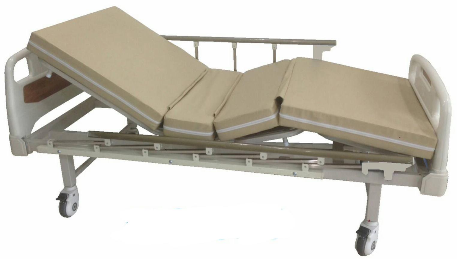 เตียงผู้ป่วย 3 ไกร์ มือหมุน แบบ โฟเมก้า รหัส MEA05