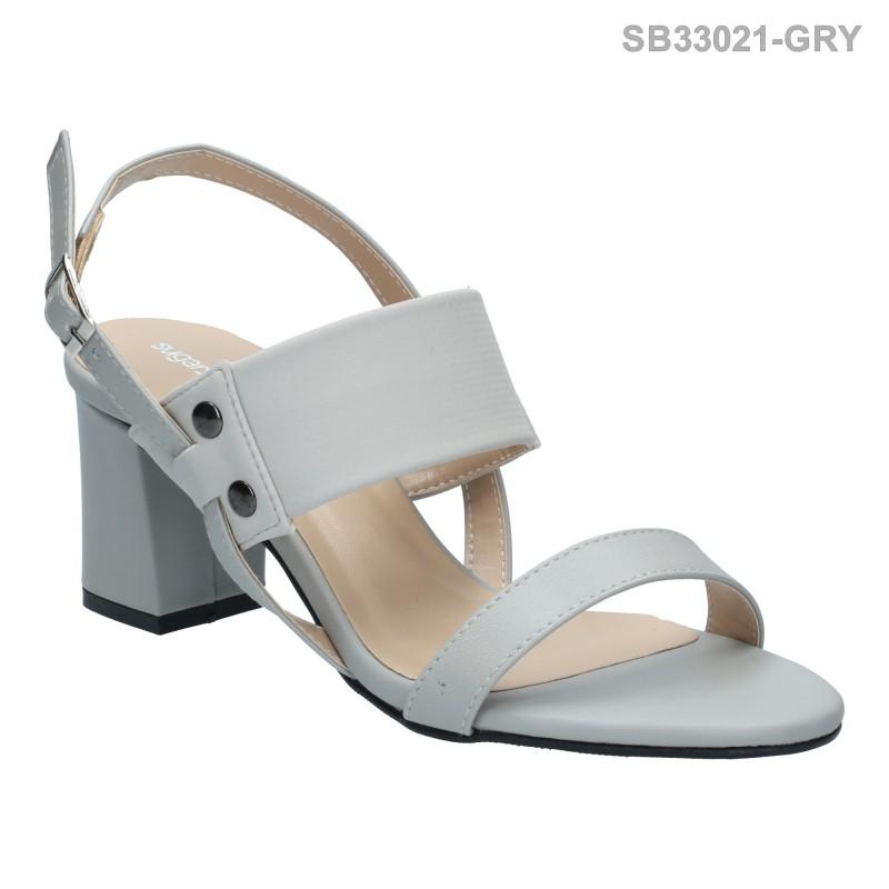 ลดล้างสต๊อก รองเท้าส้นสูงแฟชั่น SB33021-GRY [สีเทา]