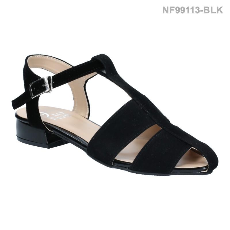 ลดล้างสต๊อก รองเท้าส้นแบน NF99113-BLK [สีดำ]