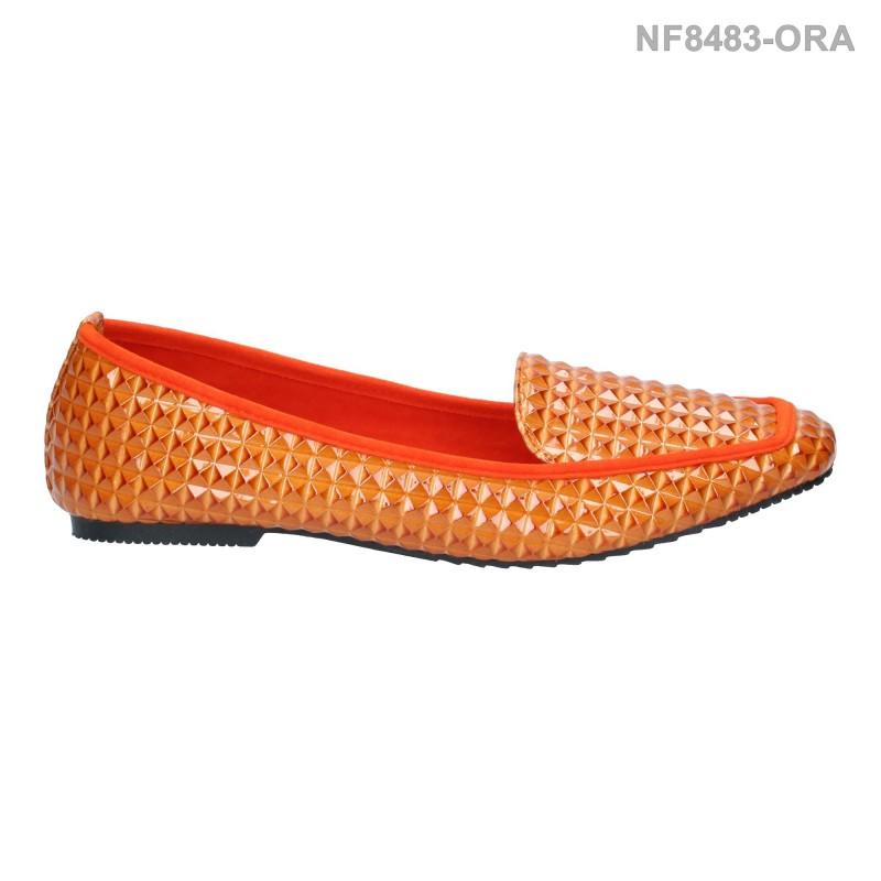 ลดล้างสต๊อก รองเท้าส้นแบน NF8483-ORA [สีส้ม]