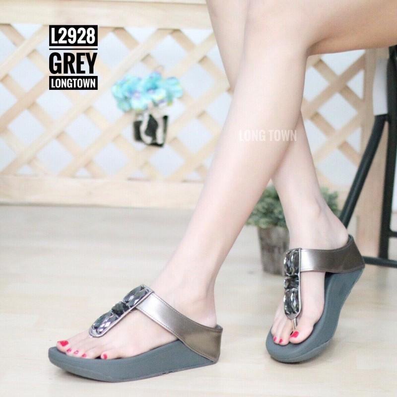 รองเท้าเพื่อสุขภาพ ฟิทฟลอปหนีบ L2928-GRY [สีเทา]