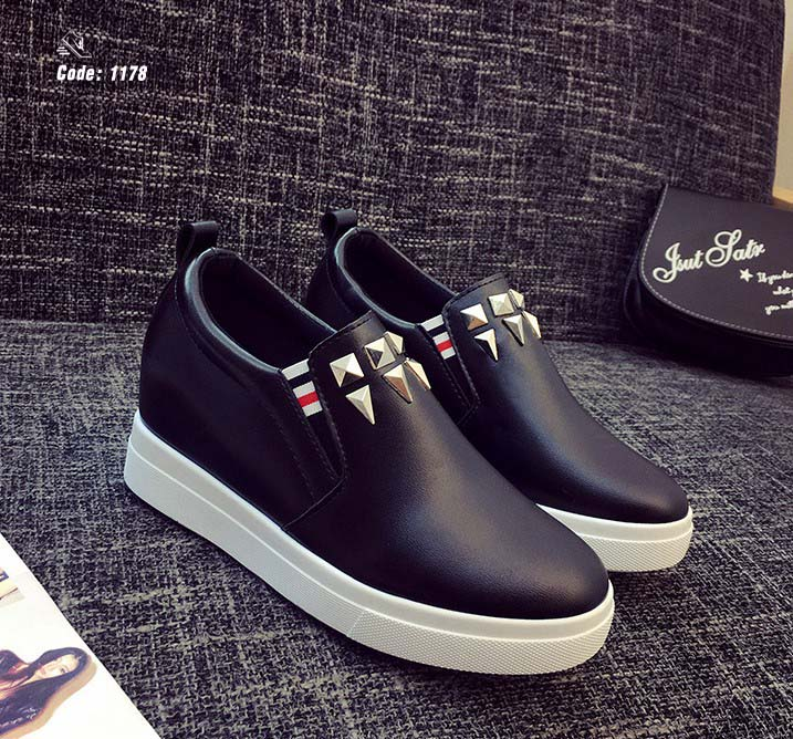 รองเท้าลำลองเพื่อสุขภาพ 1178-Black 1178 [สีดำ]