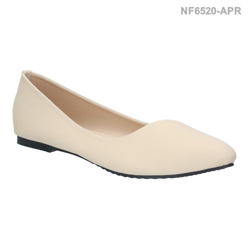 ลดล้างสต๊อก รองเท้าส้นแบน NF6520-APR [สีแอปริคอท]