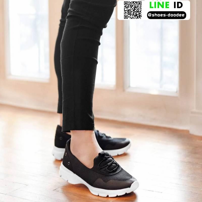 รองเท้าผ้าใบลำลอง เพื่อสุขภาพ G552-BLK [สีดำ]