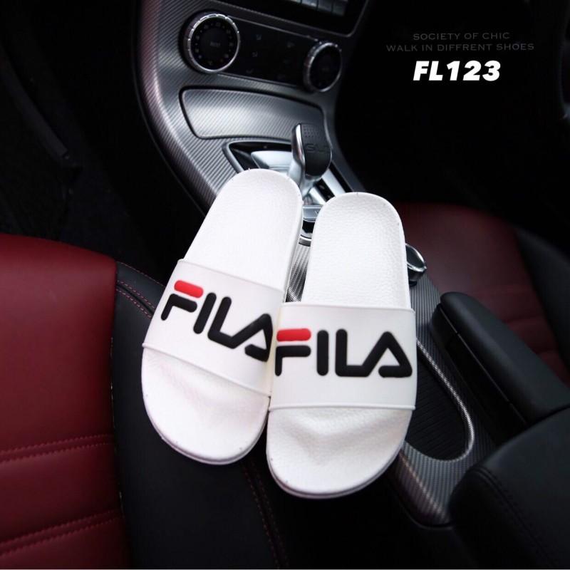 รองเท้าแตะสีขาว FILA HERITAGE DRIFTER POOL SLIDES (สีขาว )